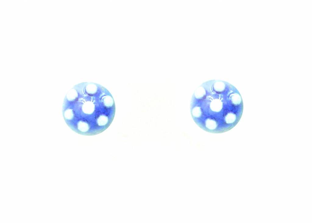 Studio Evans Dot Earrings- Lavender