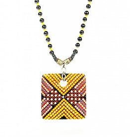 Ricky Maldonado Square Necklace