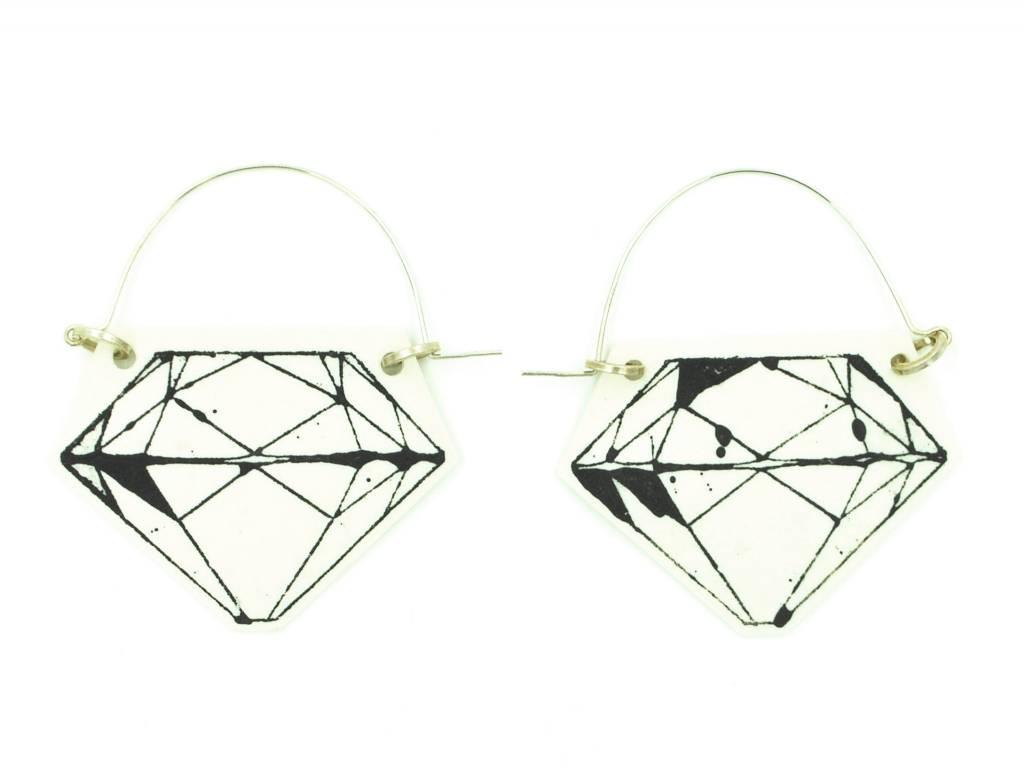 Mimi Logothetis Earrings-Diamond