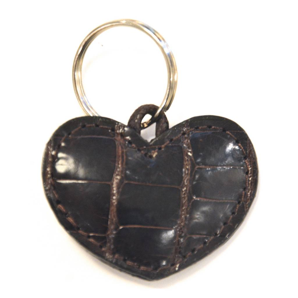 ALLIGATOR HEART KEYCHAIN TMORO