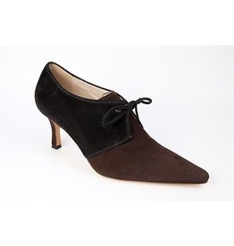 TIBET SUEDE BLACK/BROWN