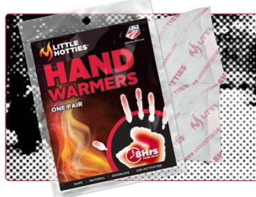 Hand Warmers - 1 pair