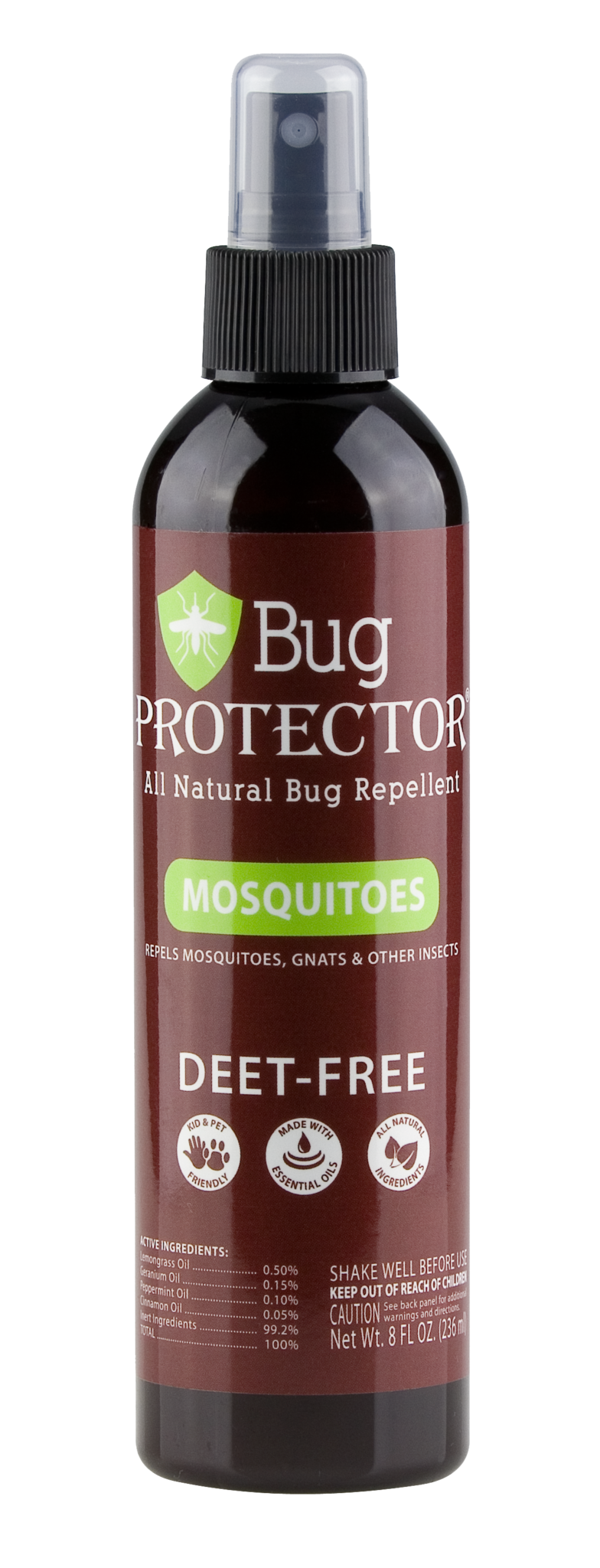 Bug Protector Mosquito Spray 8oz