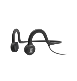 AfterShokz Sportz Titanium Onyx Black Wired Headphones
