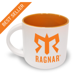 Ragnar Coffee Mug (White/Orange)