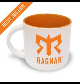 Ragnar Coffee Mug (White/Orange)