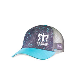 Women's Ragnar  Technical Trucker Hat - Grey/Teal Flecks