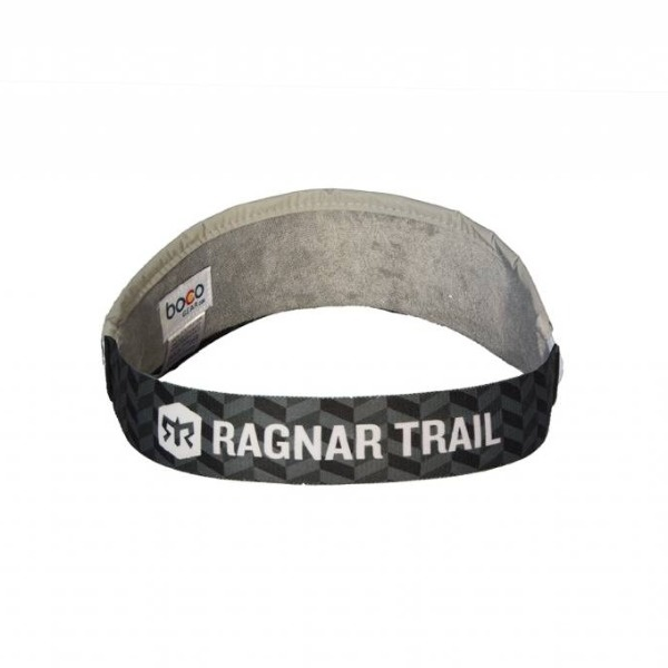 Ragnar Trail Black Visor
