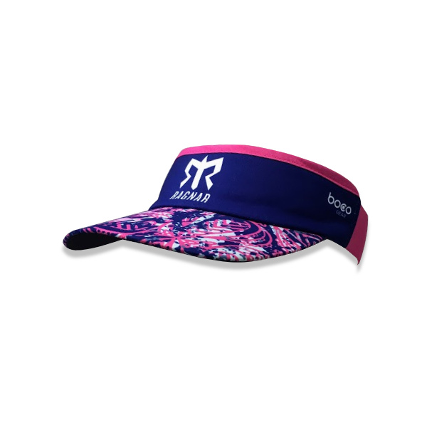 Ragnar Pink/Purple Pattern Ragnar Visor