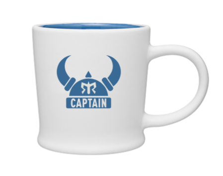 Ragnar Captain Coffee Mug - Cobalt