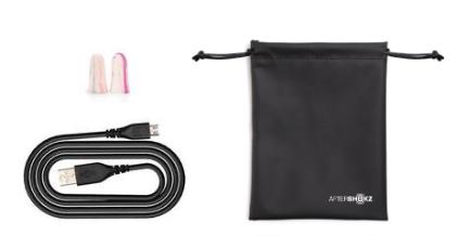 AfterShokz Trekz Titanium MINI Slate Grey Wireless Headphones