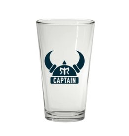 Ragnar Captain Pint Glass (Blue Logo)