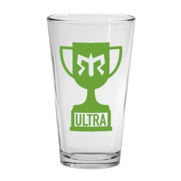 Ragnar Ultra Pint Glass (Lime Logo)