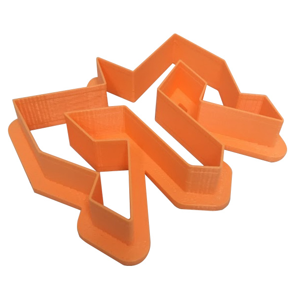 Ragnar Plastic Cookie Cutter
