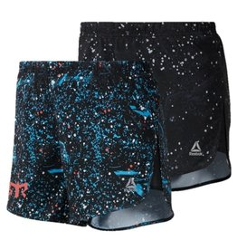 Reebok Women's RE 4 Inch Shorts - Graphic (FW19)