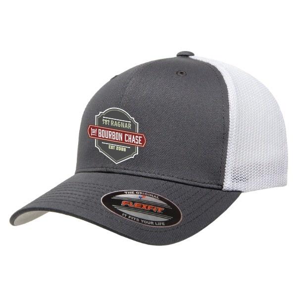 TBC Retro Trucker, Charcoal/White, OSFM