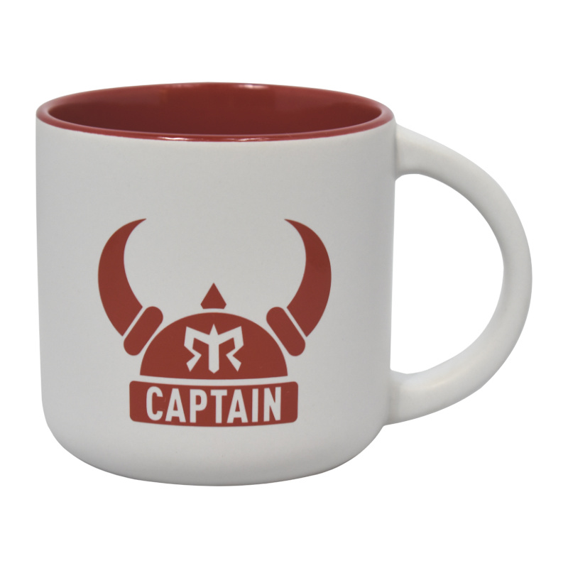 Ragnar Captain Coffee Mug (White/Red)