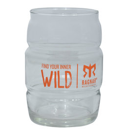 Ragnar Inner Wild 16oz Barrel Glass