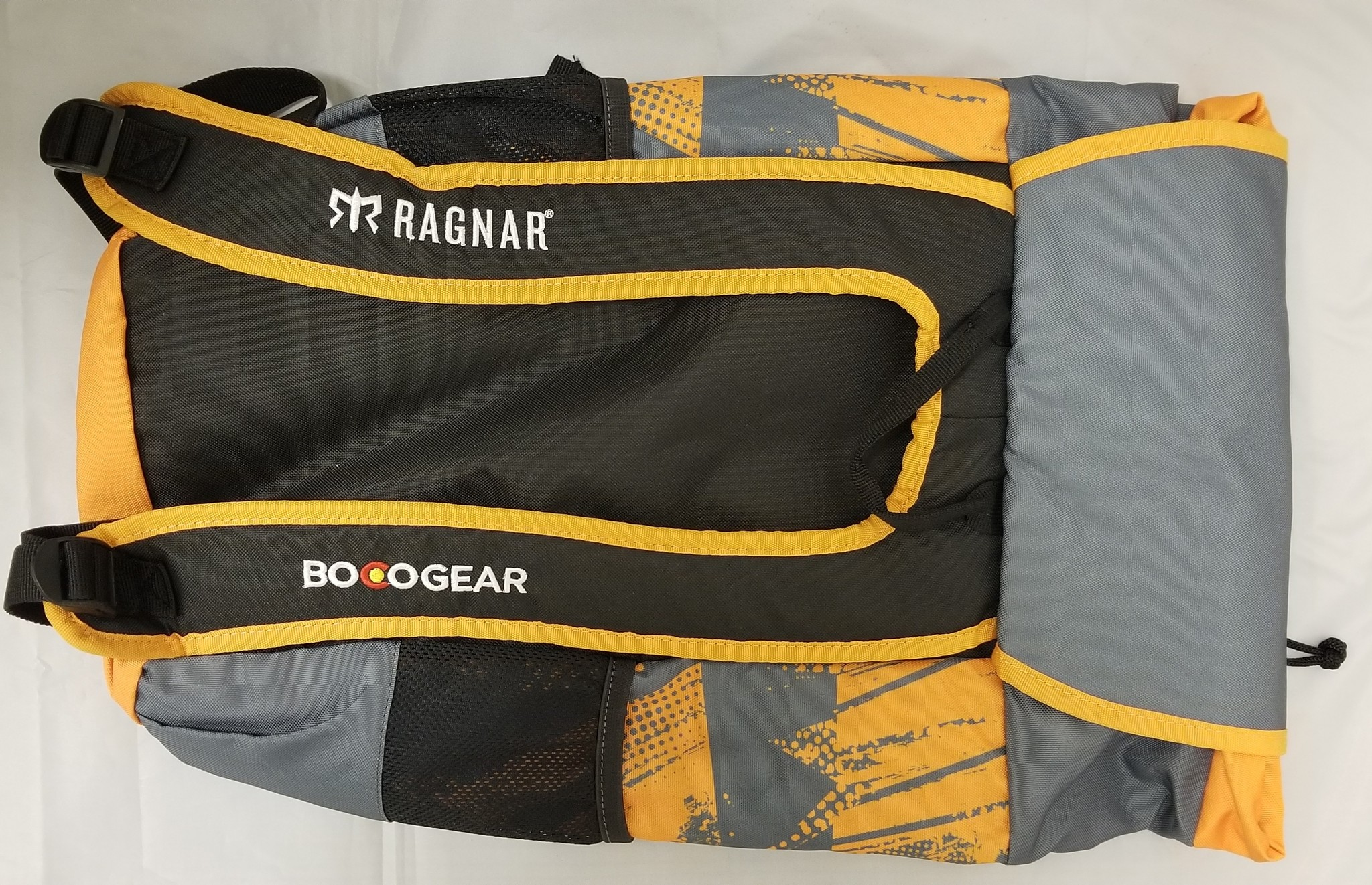 Ragnar Deluxe Bag - Grey/Orange