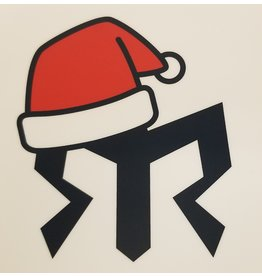 Santa Hat Mask Sticker