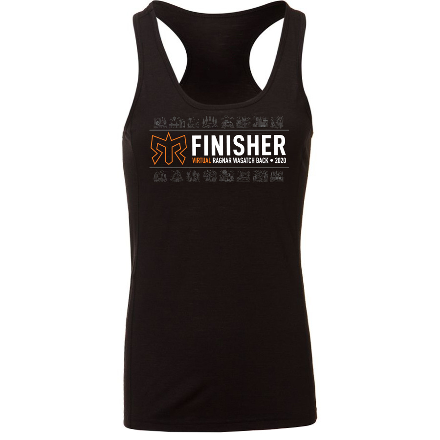 Women's VIRTUAL Event Specific Road Finisher Tank Top