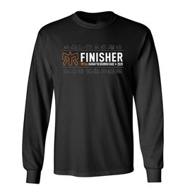 Unisex VIRTUAL Event Specific Road Finisher Cotton Blend Long Sleeve