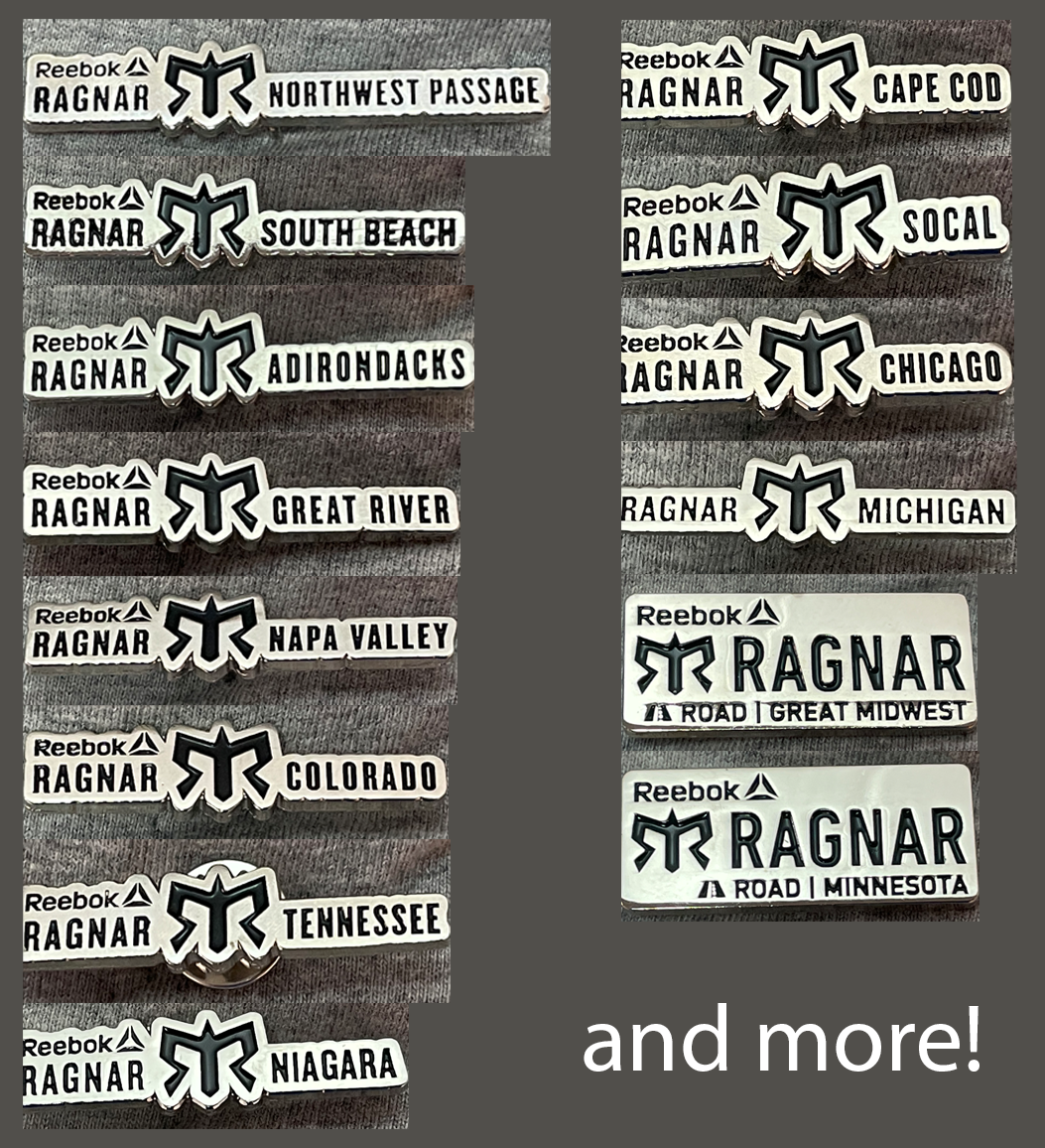 Event Specific Pin - Reebok Ragnar