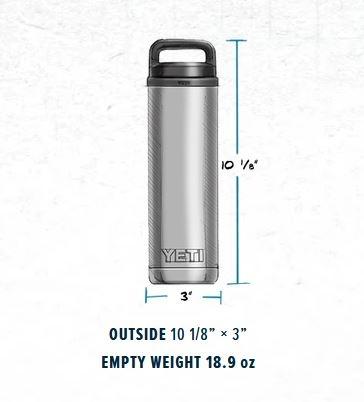 Yeti Rambler 18oz Bottle with Chug Cap