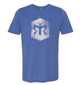 Men's Ragnar Trail Distressed Blaze Logo Tee