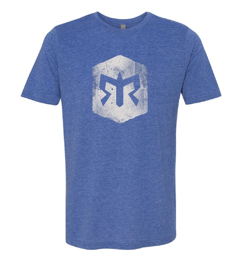 Men's Ragnar Trail Distressed Blaze Logo Tee