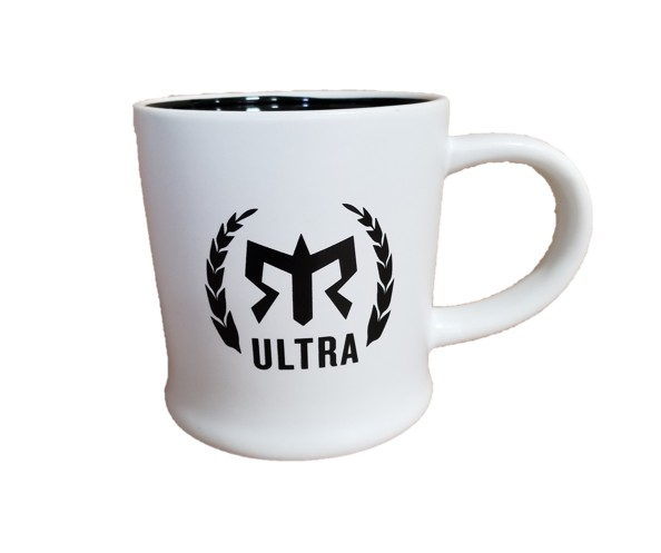 Ragnar Ultra Team Coffee Mug (White/Black)