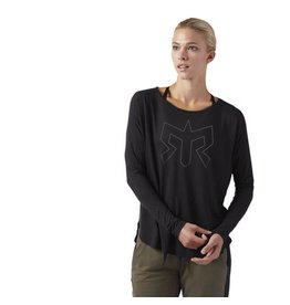 Reebok Women's Training Supply Long Sleeve Tee (SS18)