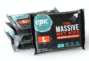 Epic Wipes Massive Body Wipe - Large