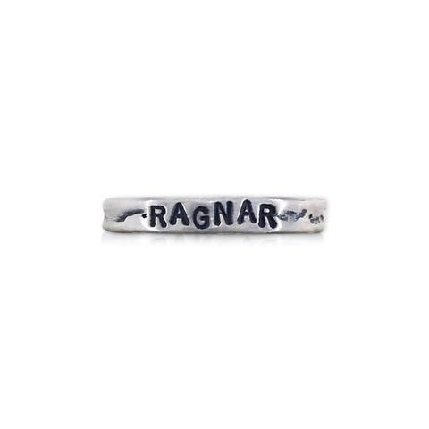 Scott James Jewelry Handstamped Ragnar Ring -