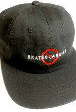 KINGSWELL KINGSWELL NO SKATEBOARDING HAT - BLACK