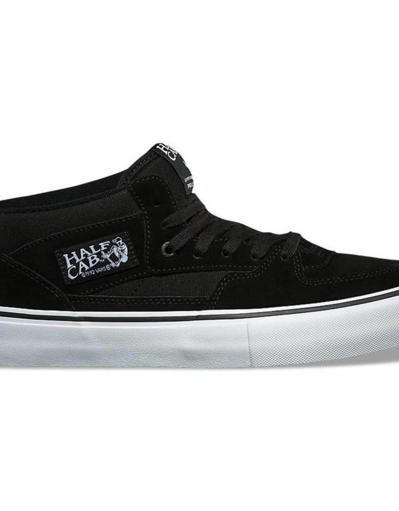 VANS VANS HALF CAB PRO BLACK/BLACK/WHITE