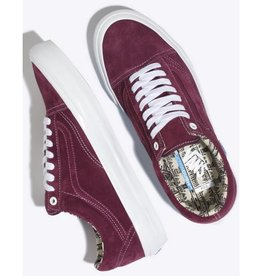 VANS VANS OLD SKOOL PRO (RAY BARBEE) - OG BURGUNDY