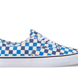 VANS AUTHENTIC PRO - CHECKERBOARD CLASSIC WHITE/INDIGO BUNTING