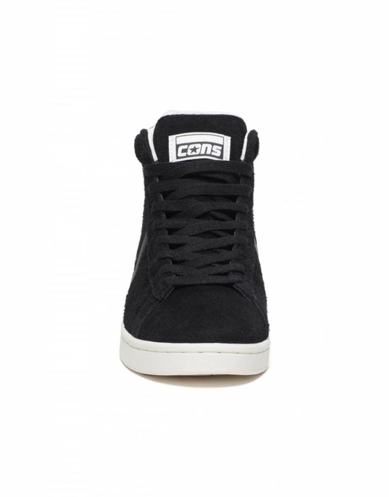 CONVERSE CONVERSE X HOPPS PRO LEATHER MID - BLACK/WHITE
