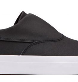 HUF FOOTWEAR HUF DYLAN SLIP ON - BLACK/WHITE