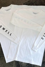 KINGSWELL KINGSWELL HANDSOME L/S TEE - WHITE