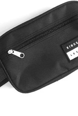 KINGSWELL KINGSWELL PATCHED TOILETRY BAG