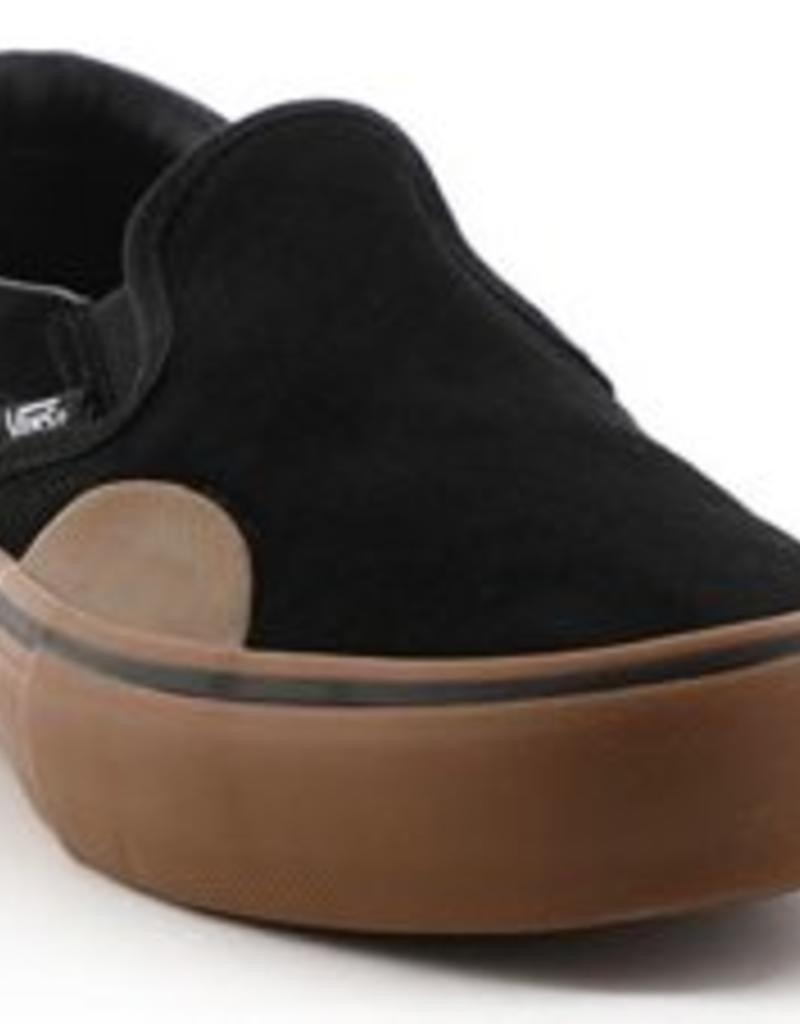 VANS VANS SLIP ON PRO - (RUBBER) BLACK/GUM