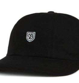 BRIXTON BRIXTON B-SHIELD 3 CAP - BLACK/GREY