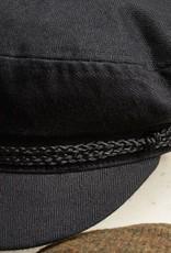 BRIXTON BRIXTON FIDDLER CAP - BLACK