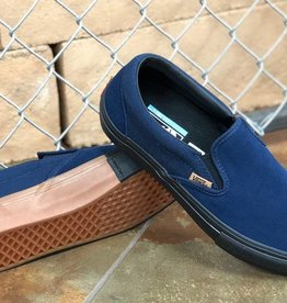 VANS VANS SLIP ON PRO - (SPLIT FOXING) DRESS BLUE