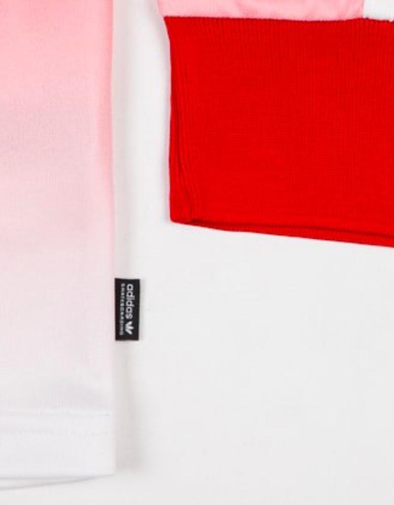 ADIDAS ADIDAS X EVISEN JERSEY - SCARLET/WHITE