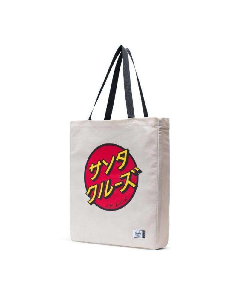 HERSCHEL HERSCHEL X SANTA CRUZ TOTE BAG - JAPANESE/NATURAL