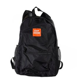 Doom Sayers DOOM SAYERS PACKABLE BACKPACK - BLACK/ORANGE
