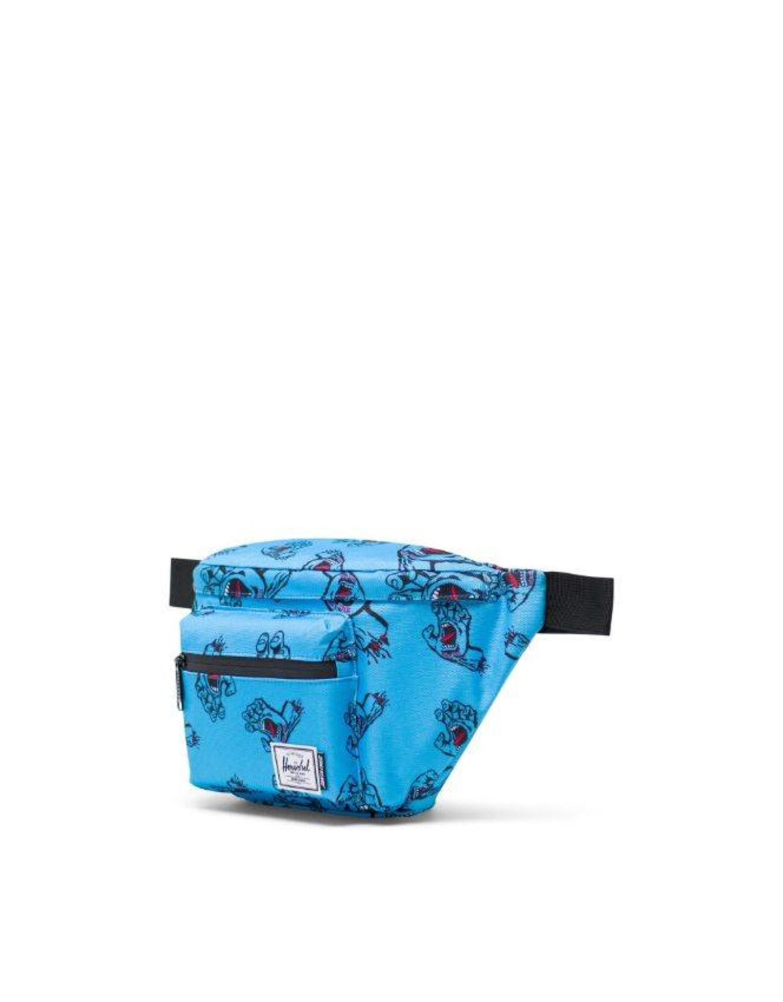 HERSCHEL HERSCHEL X SANTA CRUZ SEVENTEEN HIP PACK - SANTA CRUZ BLUE